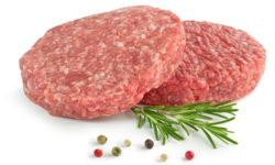 hamburger di carne bovina